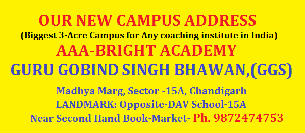 AAA Bright Academy  sector 15 chandigarh
